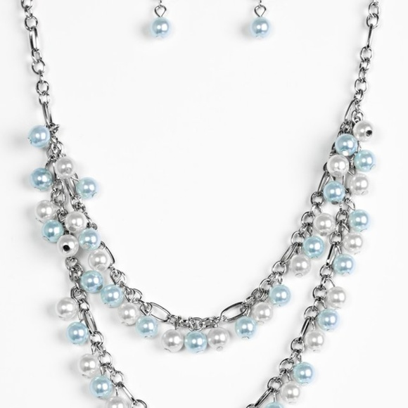 paparazzi Jewelry - 💍 5 for $25 sale! 💍 Blue Necklace